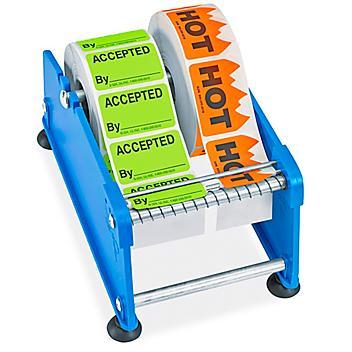 "Uline Economy Label Dispenser - 4"" H-153"