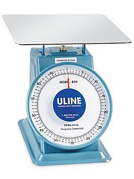Uline Platform Dial Scale - 70 lbs x 4 oz H-177
