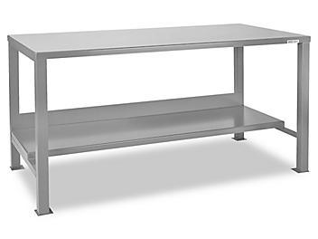 """Welded Steel Workbench - 72 x 30"""" H-3078"""