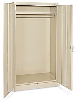 """Wardrobe Cabinet - 36 x 18 x 72"""", Tan H-3107T"""