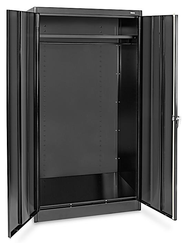 "Wardrobe Cabinet - 36 x 24 x 72"", Black H-3108BL"
