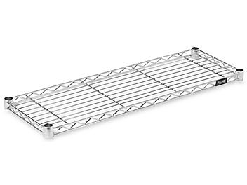"""Additional Chrome Wire Shelves - 36 x 12"""" H-3178C"""