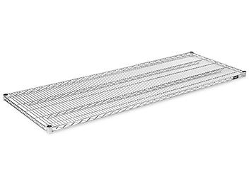 """Additional Chrome Wire Shelves - 72 x 24"""" H-3189C"""