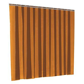 Vinyl Strip Door Kit - Amber, 8 x 10' H-3210
