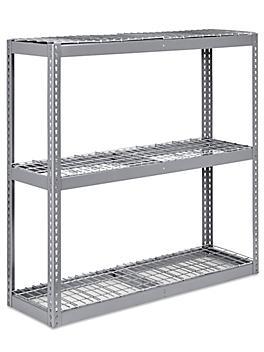"""Wide Span Storage Rack - Wire Decking, 60 x 18 x 60"""" H-3226"""