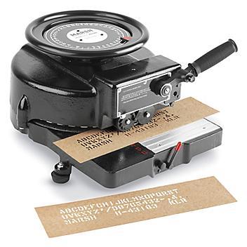 """Stencil Machine - 1/2"""" H-347"""
