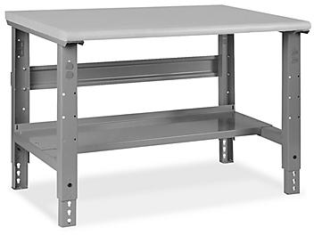 """Industrial Packing Table - 48 x 36"""", Laminate Top H-3657-LAM"""