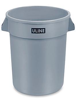 Uline Trash Can - 32 Gallon