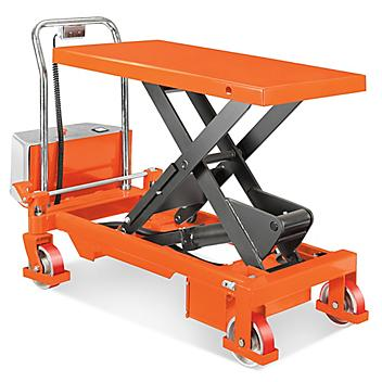 """Battery Operated Lift Table - Standard, 1,650 lb, 40 x 20"""" H-3768"""