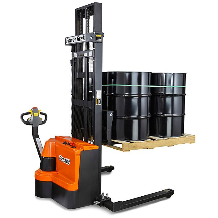 """Fully Powered Stacker - 125"""" Lift H-3937"""