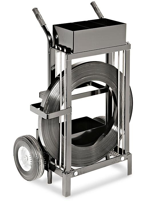Uline Specialty Cart for Ribbon-Wound Steel Strapping H-396