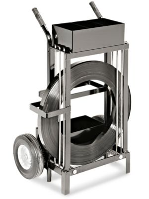 Uline Specialty Cart for Ribbon-Wound Steel Strapping