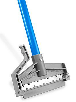 "Quick Change Fiberglass Mop Handle - 60"", Blue H-4504BLU"