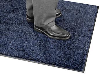 Plush Nylon Carpet Mat - 3 x 5', Navy H-4510NB