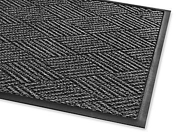 Waterhog™ Diamondcord Carpet Mat - 3 x 5', Charcoal H-4518CH