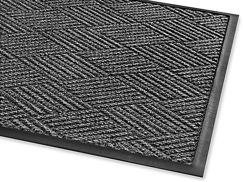 Waterhog™ Diamondcord Carpet Mat - 3 x 10', Charcoal H-4519CH