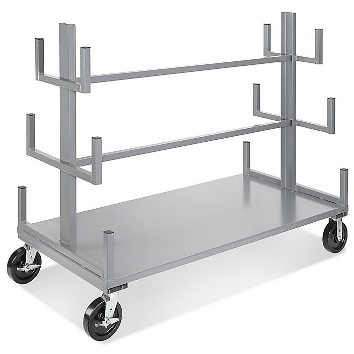 """Mobile Bar and Pipe Rack - 72 x 36 x 60"""" H-4543"""