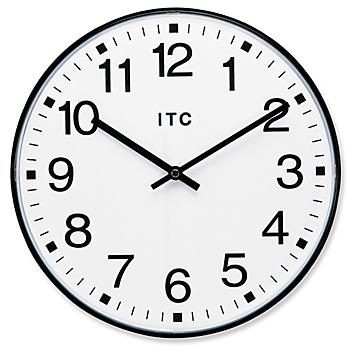 """Traditional Wall Clock - 19"""" H-4570"""