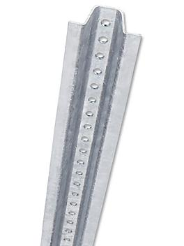 U-Channel Post for Parking Signs - 10 ft, Galvanized H-4586GALV