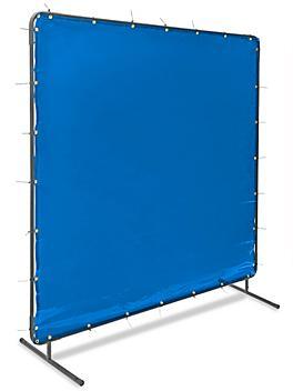 Welding Screen - 6 x 6', Blue H-4610BLU