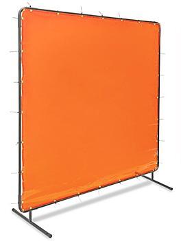 Welding Screen - 6 x 6', Orange H-4610O