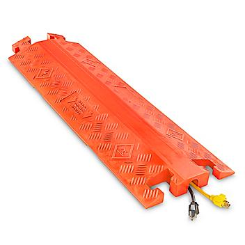 """Drop Over Cable Protector - 1 1/4"""", Orange H-4616O"""