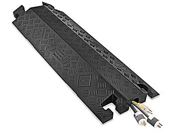 """Drop Over Cable Protector - 2 1/4"""", Black H-4617BL"""