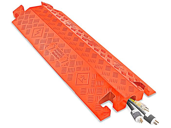 """Drop Over Cable Protector - 2 1/4"""", Orange H-4617O"""