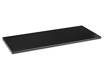"Additional Bookcase Shelf - 35 x 14"", Black H-4623BL"