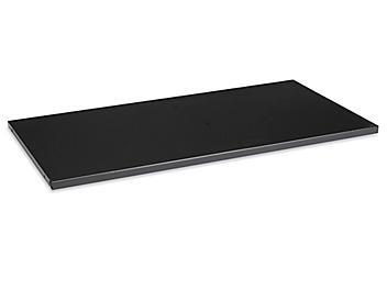 "Additional Bookcase Shelf - 36 x 18"", Black H-4624BL"