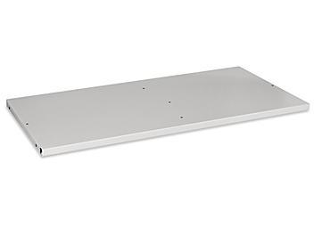 "Additional Bookcase Shelf - 36 x 18"", Light Gray H-4624GR"