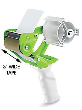 """Uline Heavy Duty Tape Dispenser - 3"""", Lime Green H-465LIME"""