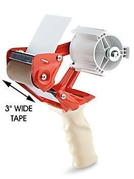 "Uline Heavy Duty Tape Dispenser - 3"", Orange H-465O"