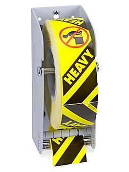 """Uline Wall Mount Label Dispenser - 3"""" H-4689"""