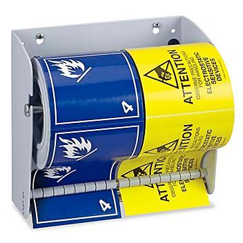 """Uline Wall Mount Label Dispenser - 8 1/2"""" H-4691"""