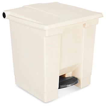 Rubbermaid<sup>&reg;</sup> Step-On Trash Can - 8 Gallon
