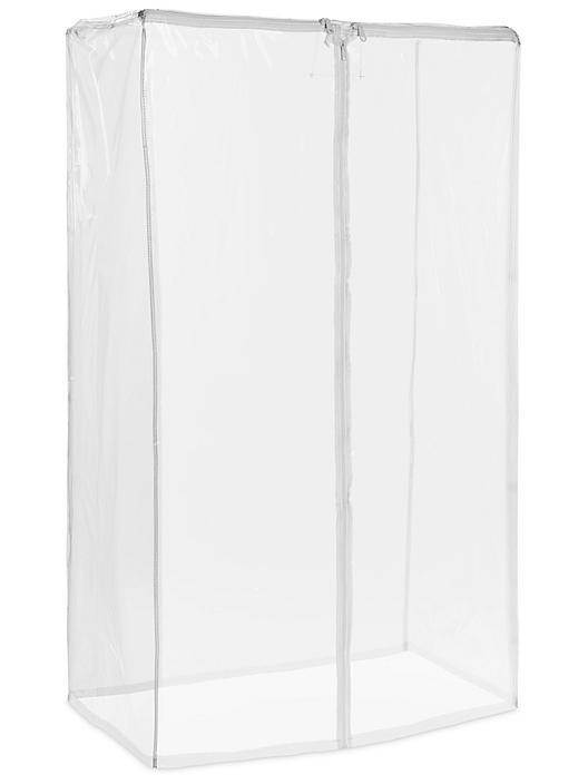 """Mobile Shelving Cover - 36 x 18 x 63"""", Clear H-4792C"""