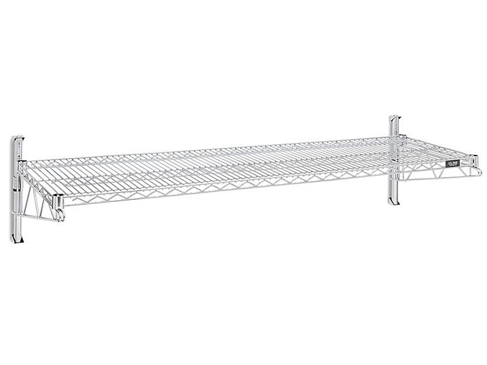 """Wall-Mount Wire Shelving - 60 x 18 x 14"""" H-4797"""