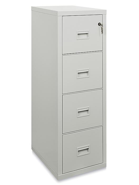 Vertical Fire-Resistant File Cabinet - 4 Drawer