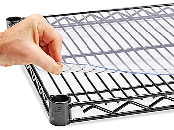 "Plastic Shelf Liner - 30 x 18"" H-4840"