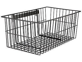 Hanging Utility Basket - Black H-4841BL