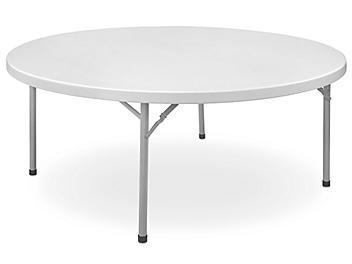 "Economy Folding Table - 72"" Round H-4844"