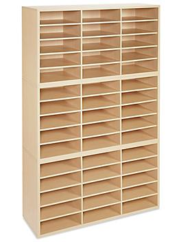Mail Sorter - Wood, 45 Compartment H-4851
