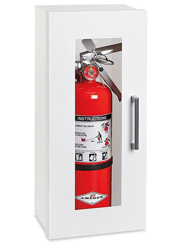 Fire Extinguisher Cabinet - Surface Mount, 2 1/2 - 5 lb H-4871