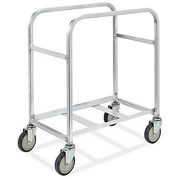 Cross-Stack Tub Cart - 2 Tubs H-4874
