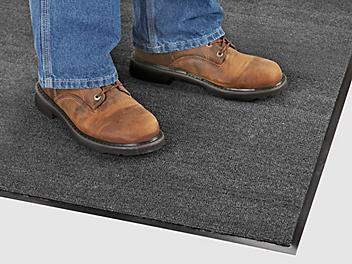 Standard Carpet Mat - 3 x 12', Charcoal H-487GR
