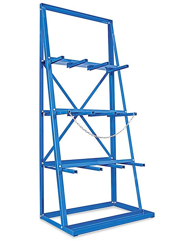 "Vertical Bar Rack - 36 x 24 x 85"" H-4888"