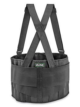 Uline Industrial Back Support Belt with Suspender