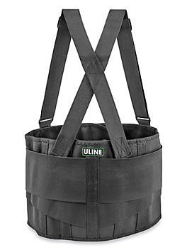 Uline Industrial Back Support Belt with Suspender - Large H-494L