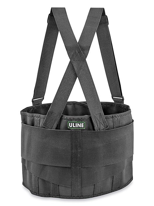 Uline Industrial Back Support Belt with Suspender - Small H-494S